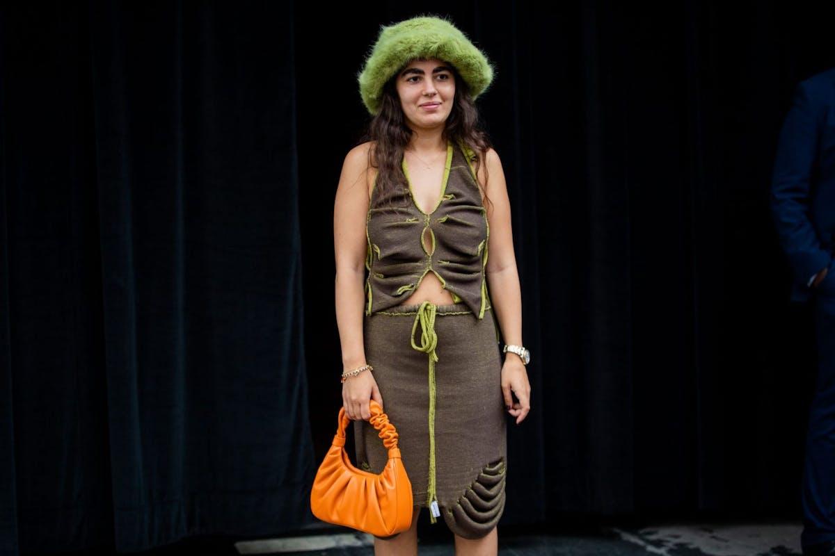 Bright and bold bags at London Fashion Week