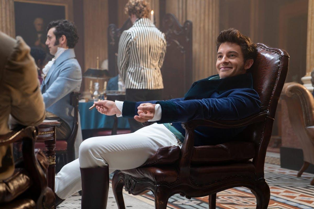 Jonathan Bailey as Anthony Bridgerton in Netflix's Bridgerton