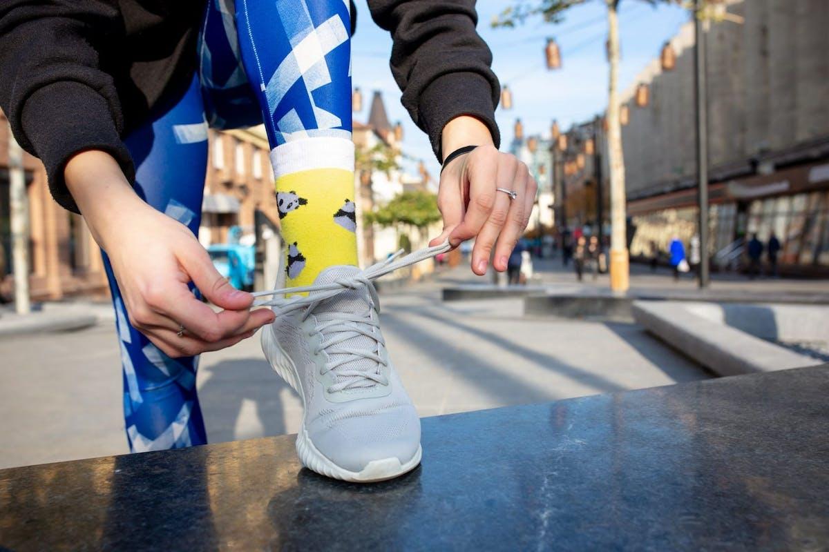 How to pick running socks