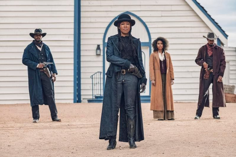 The Harder They Fall: watch the trailer for Netflix's wild western starring Regina King and Idris Elba