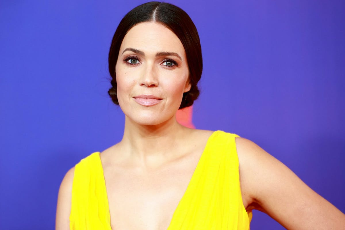 Mandy Moore attends the 2021 MTV Movie & TV Awards at the Hollywood Palladium on May 16, 2021 in Los Angeles, California. (Photo by Matt Winkelmeyer/2021 MTV Movie and TV Awards/Getty Images for MTV/ViacomCBS)
