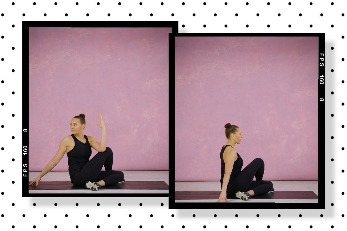 Move of the week: seated deltoid stretch