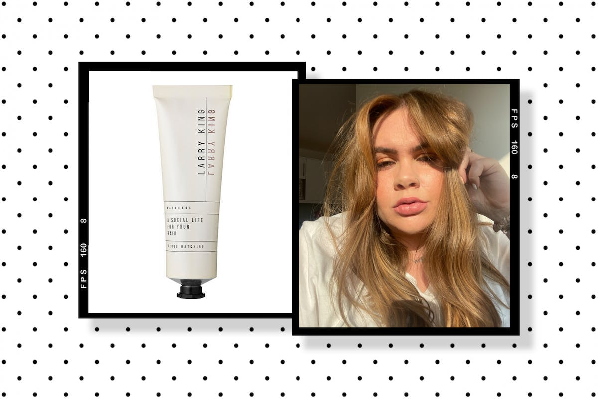 Larry King A Social Life For Your Hair finishing cream review