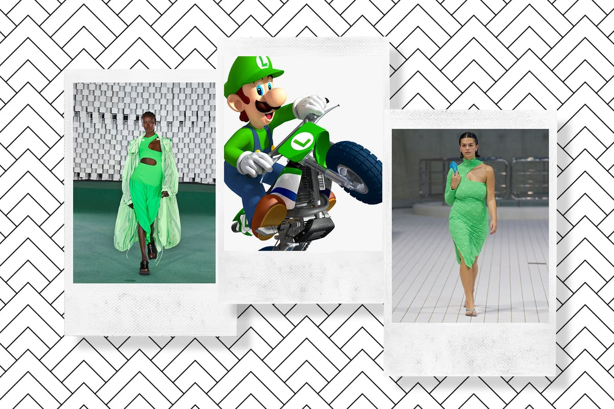 Luigi green is set to be huge