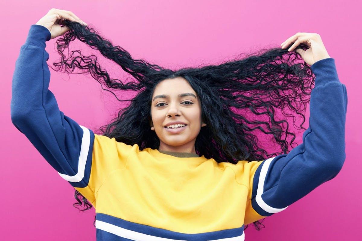 tiktok hair hyaluronic acid
