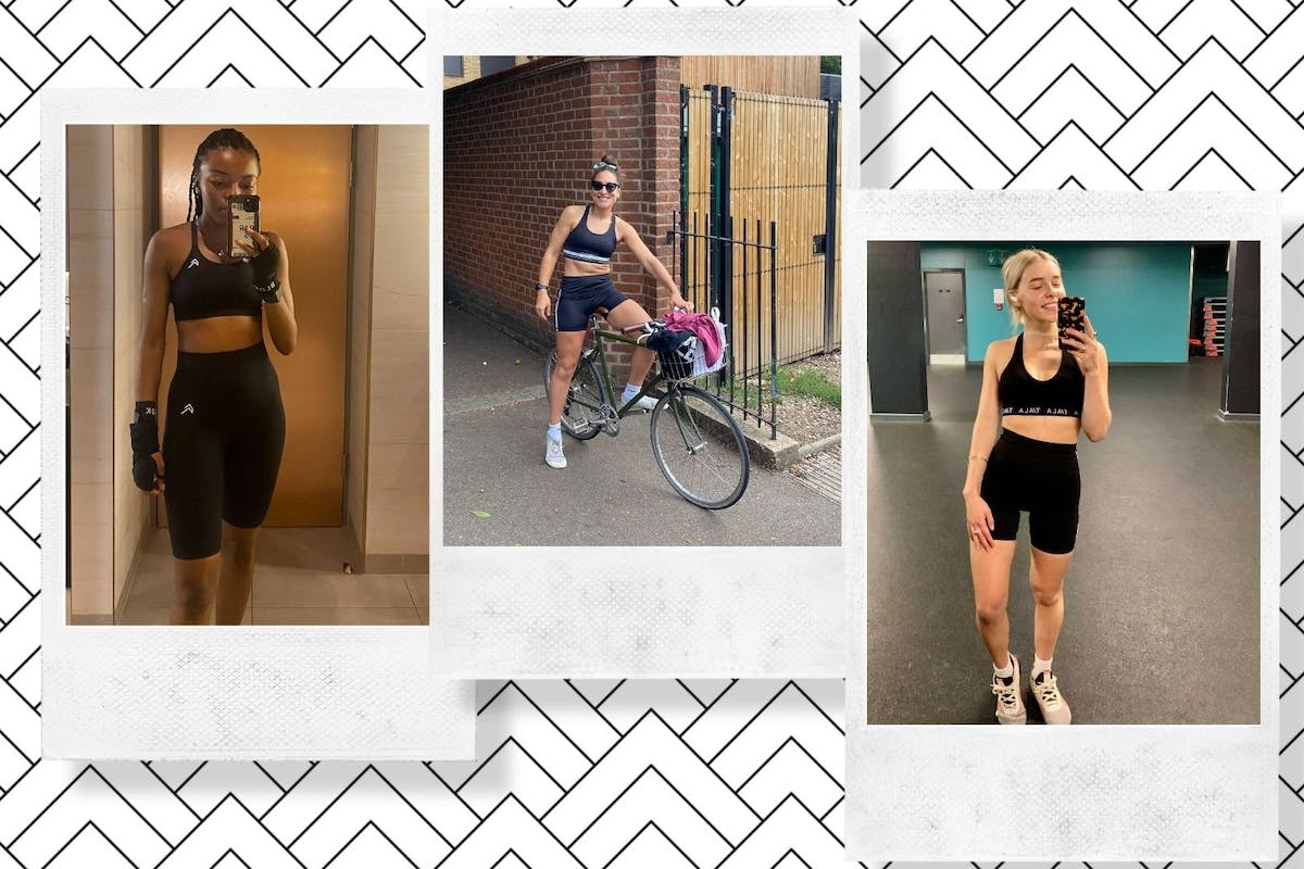 We tried matching activewear sets from Instagram