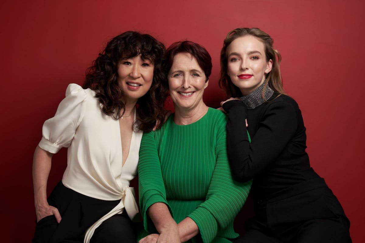 Sandra Oh, Fiona Shaw and Jodie Comer for Killing Eve