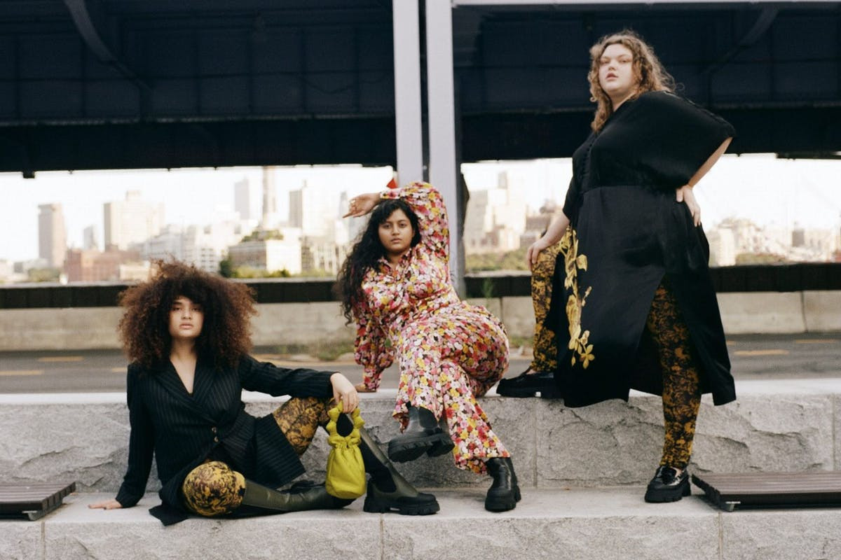 Ganni's first dedicated plus-size collection is finally here
