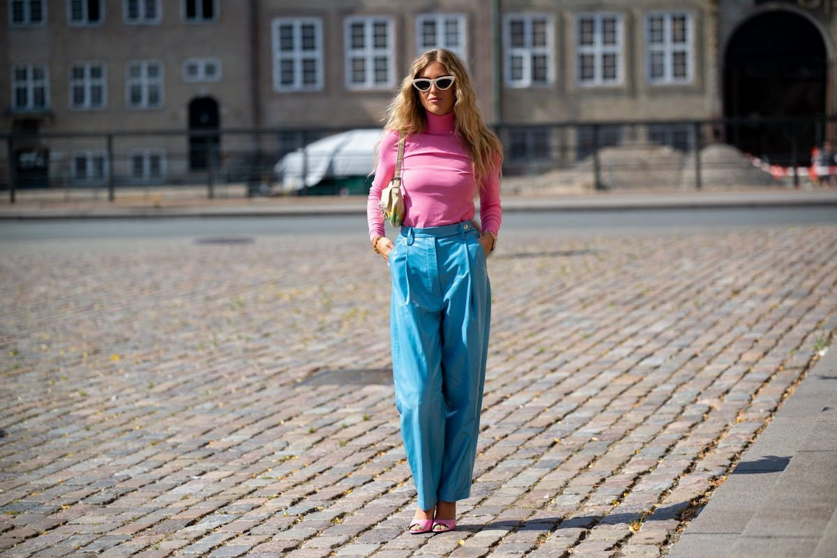 Best coloured leather trousers 2021