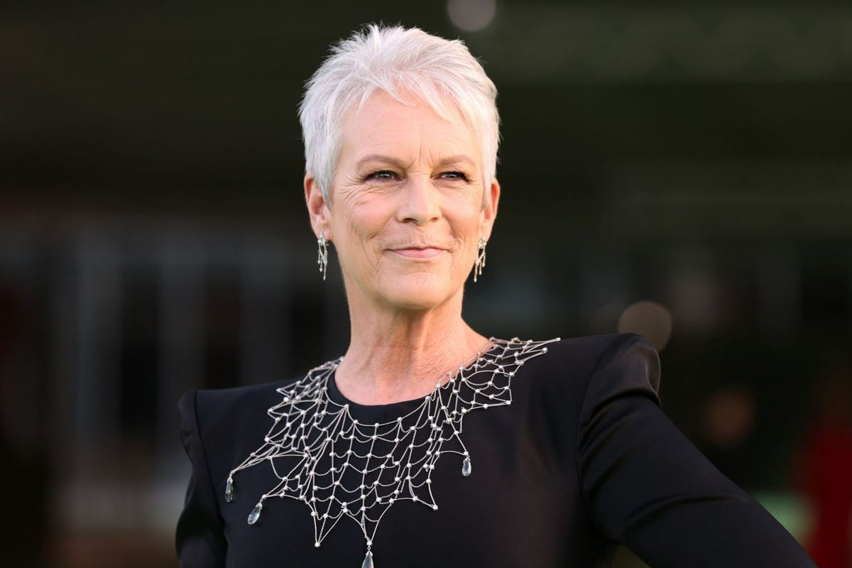 Jamie Lee Curtis attends The Academy Museum of Motion Pictures Opening Gala at The Academy Museum of Motion Pictures on September 25, 2021 in Los Angeles, California. (Photo by Amy Sussman/Getty Images)