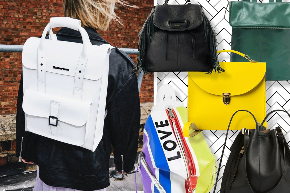 A leather rucksack is a forever style friend