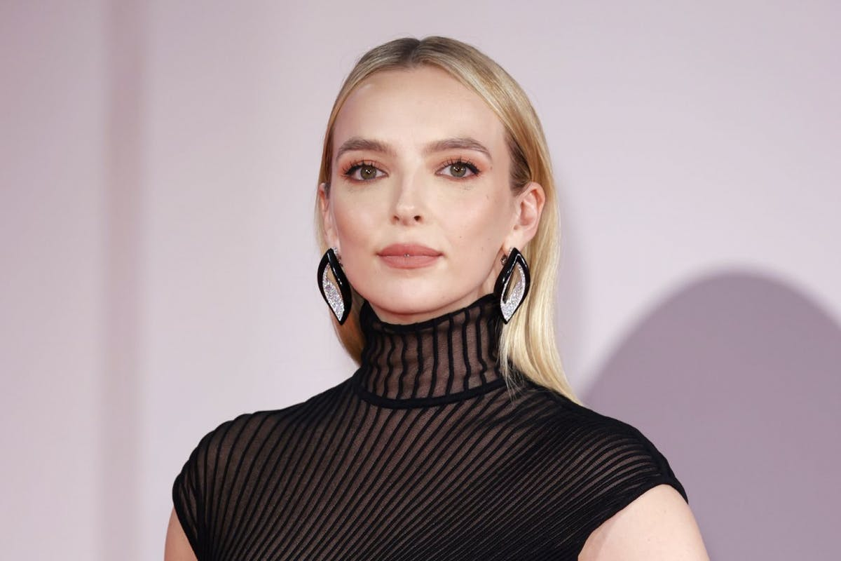 Jodie Comer on the red carpet for The Last Duel