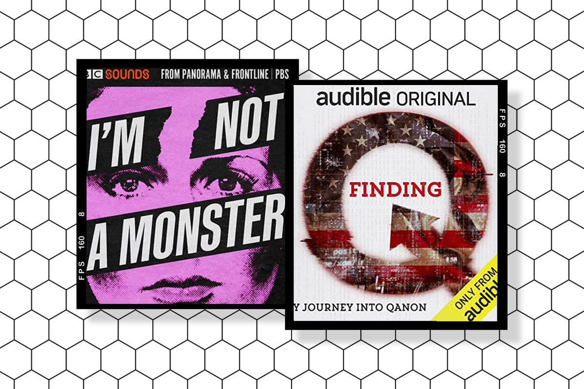 Covers for I'm Not A Monster and Finding Q